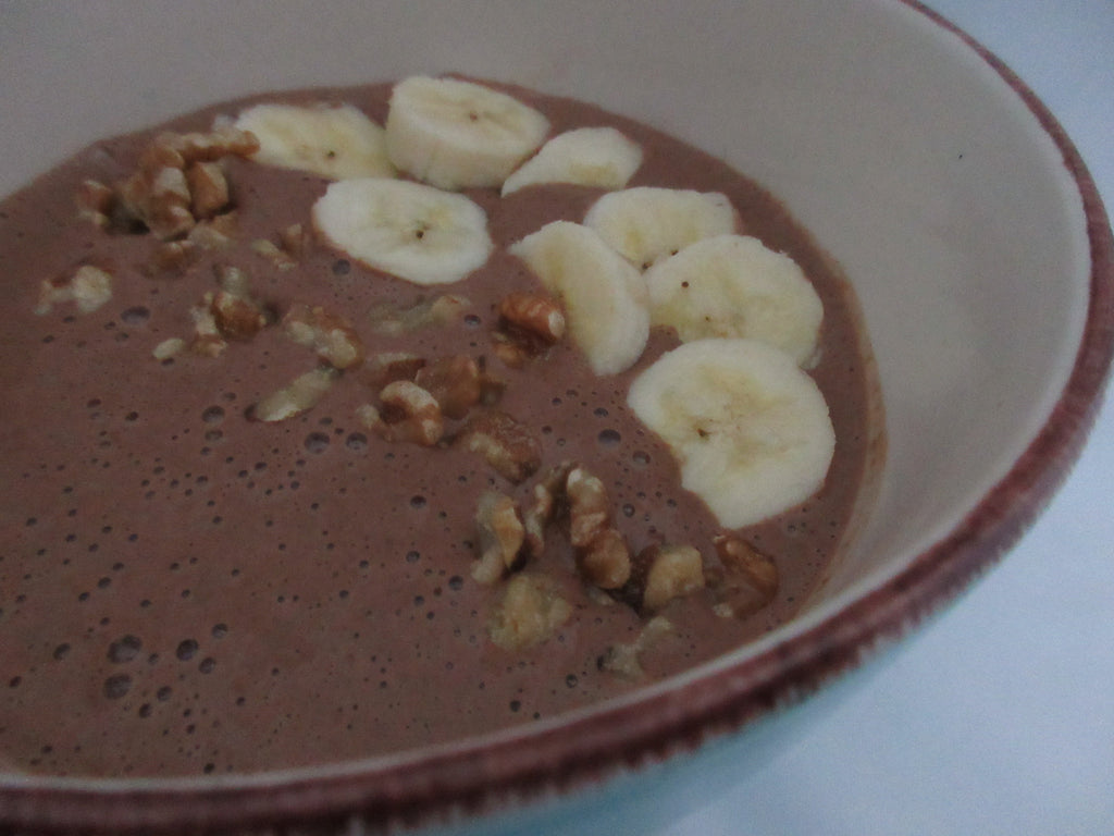 Mocha Smoothie Bowl - Paleo, Vegan and Nut Free -