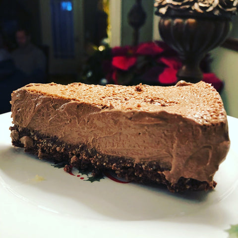 Raw Chocolate Cheesecake -Paleo, Vegan, Nut Free, Keto-