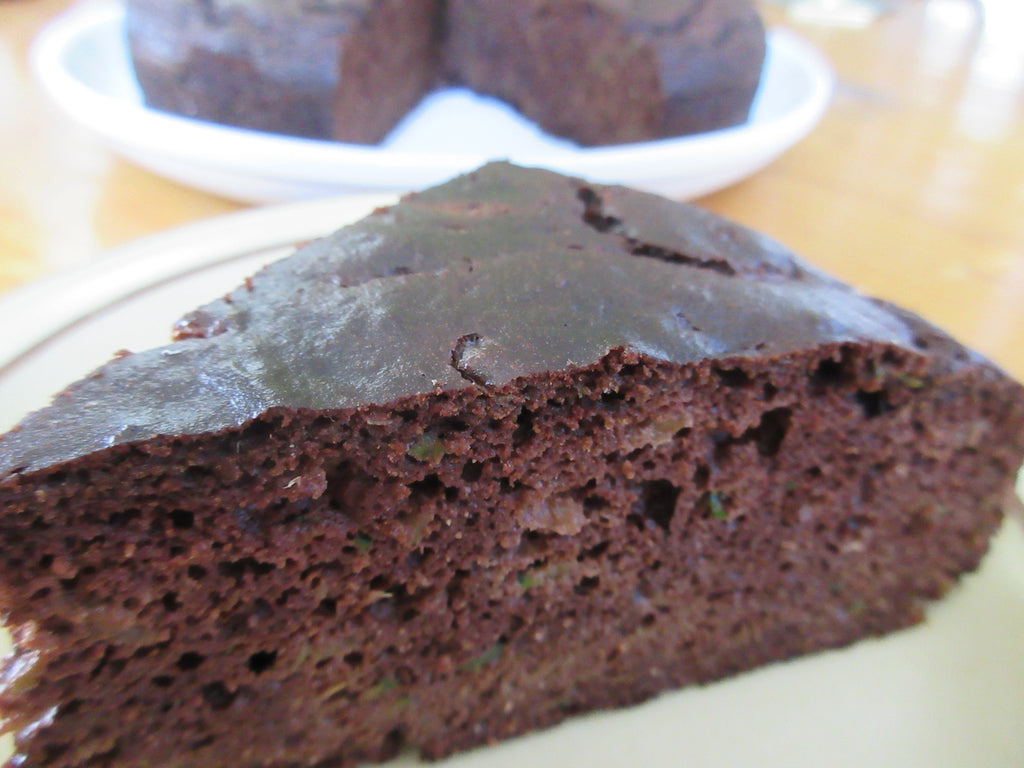 Spiced Chocolate Zucchini Cake - Paleo with Nut Free Option - Sugar Free -