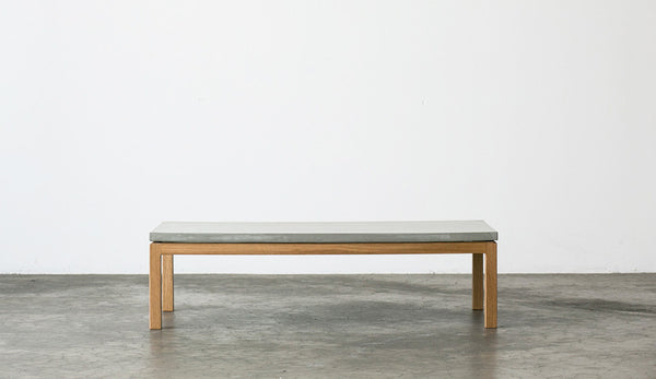 VENICE - American Oak + Concrete Coffee Table