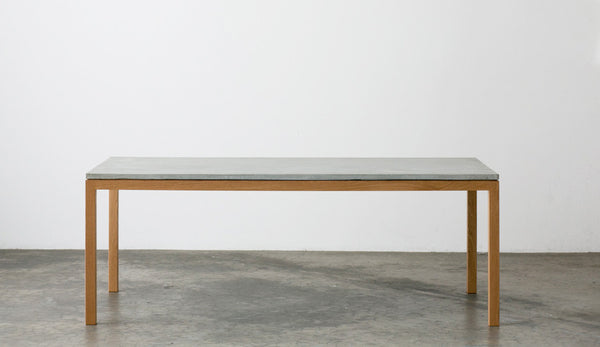 Venice - American Oak and Concrete Dining Table
