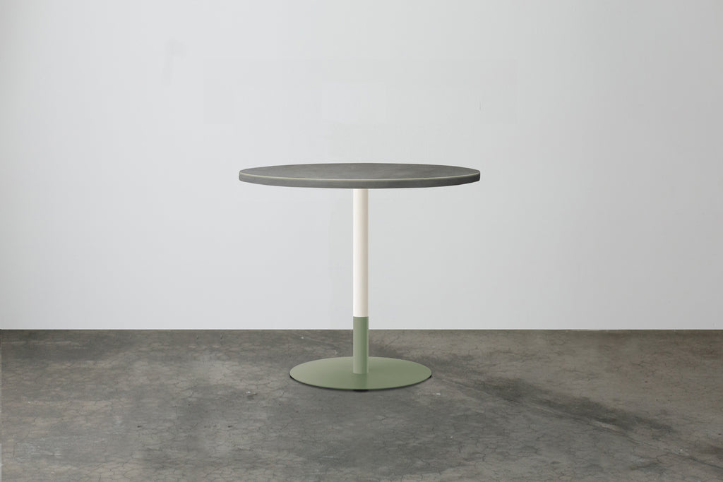 Two-Tone Cafe Table  - Round Top