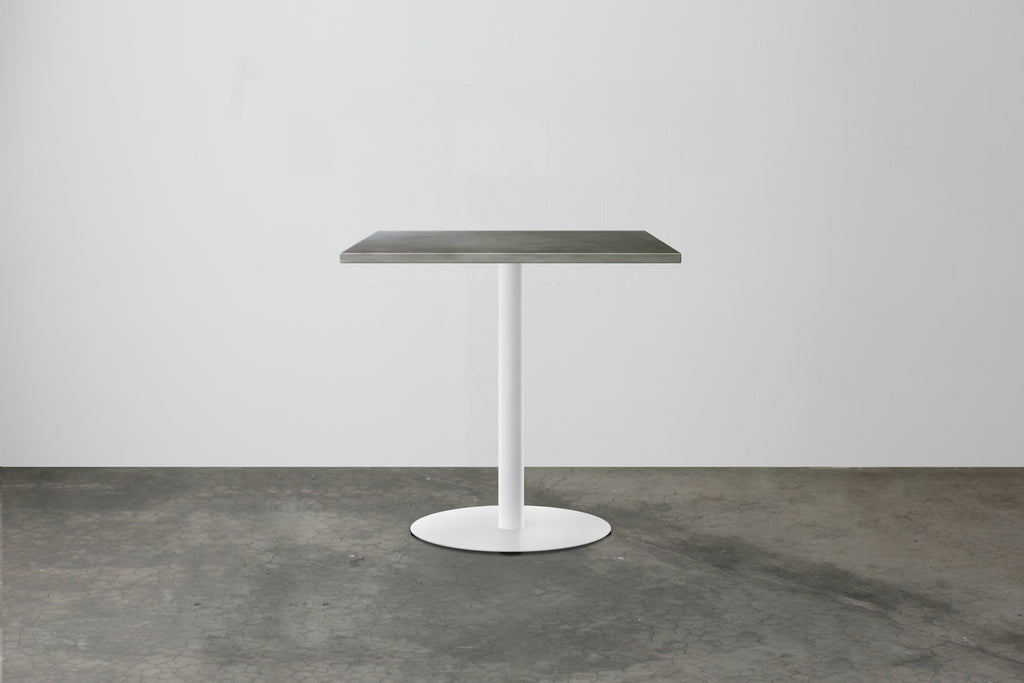N E W | Disc Cafe Table  - Rectangular Top