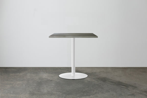 Disc Cafe Table  - Rectangular Top