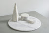 Round Marble Coaster (set of 6)