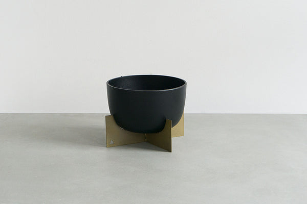 Black and Gold Planter