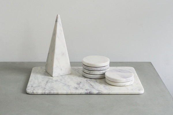 Marble Rectangular Centrepiece Bundle