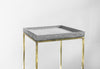Brass Soho Side Table - Tray or Flat Top