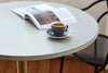 Two-Tone Cafe Table  - Square Top