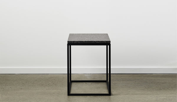 Siena Terrazzo Side Table - Graphite