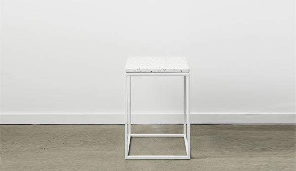 Siena Terrazzo Side Table - Neutral