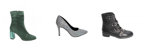 Casanovas Italian Shoes ankle boots sparkly pumps
