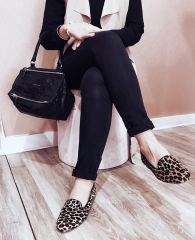 Leopard loafers Shop online