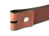Brown Patterned Leather Belts