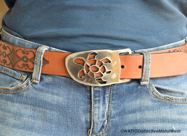 turtle belt buckle