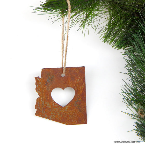 Arizona love ornament