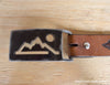 mountain metal belt buckle