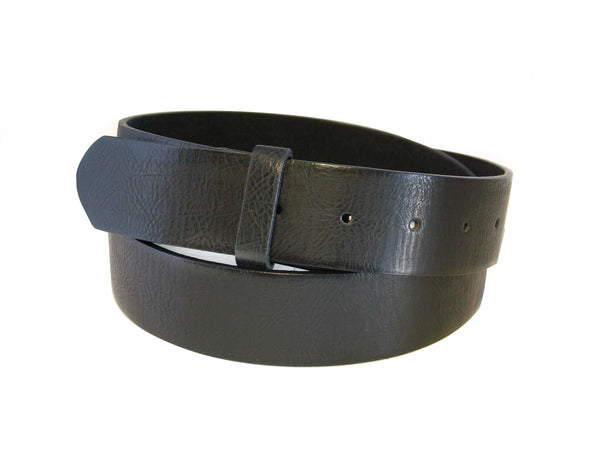 Soft Black Leather Belts