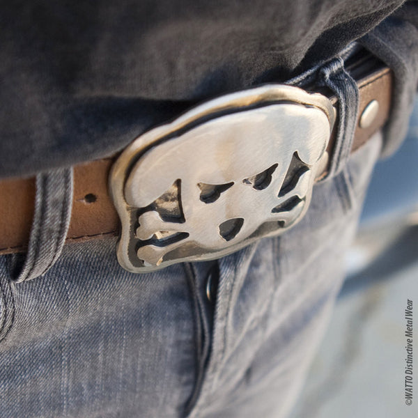 dog belt buckle - Outlaw Doggy Holmes