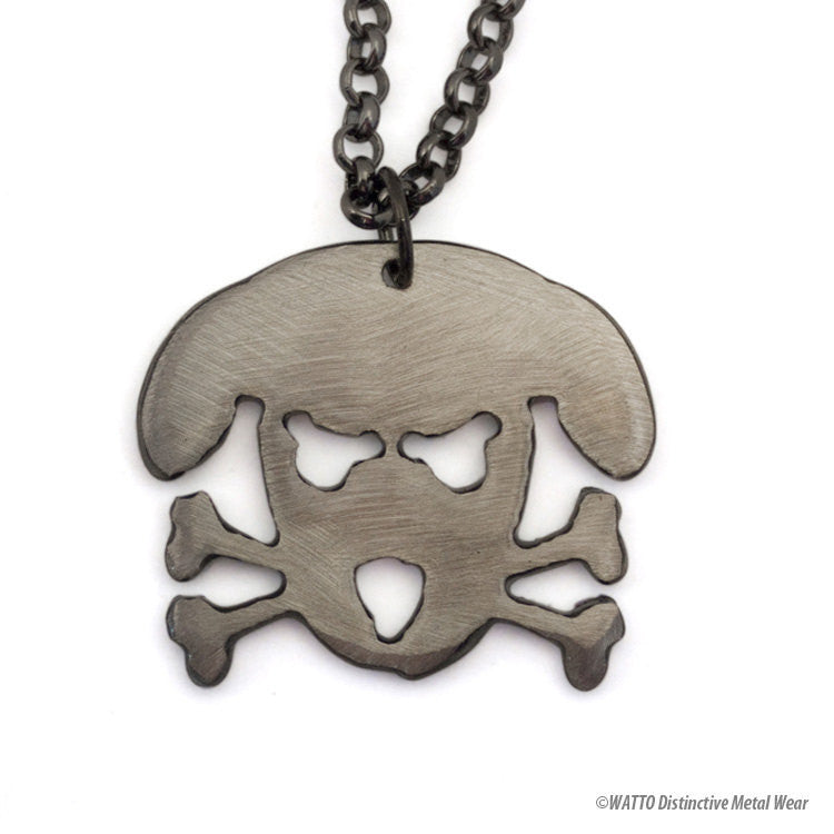 dog necklace - Outlaw Doggy Holmes