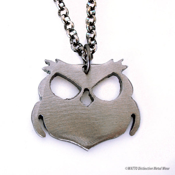 owl necklace - Wisecracker Outlaw Owl