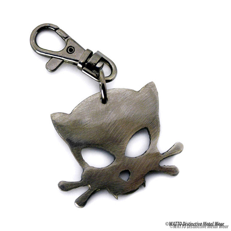 Outlaw Kitty key chain
