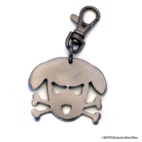 dog key chain - Outlaw Doggy Holmes