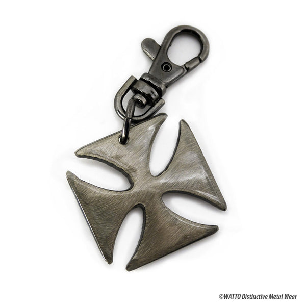 iron cross key chain