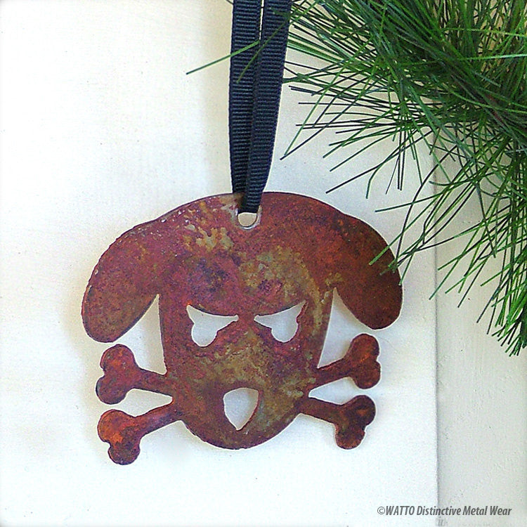 dog ornament -Outlaw Doggy Holmes