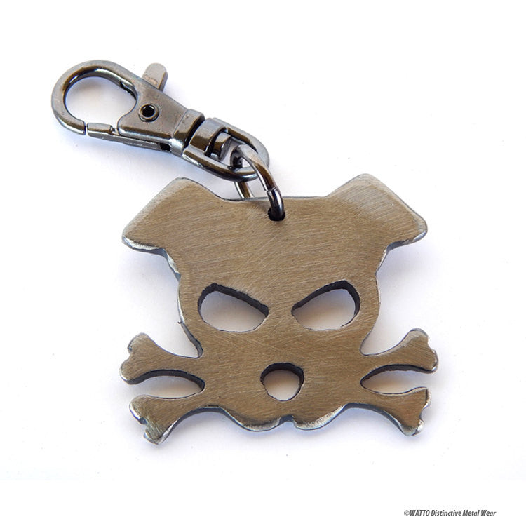 dog key chain - Outlaw Doggy  Bandit