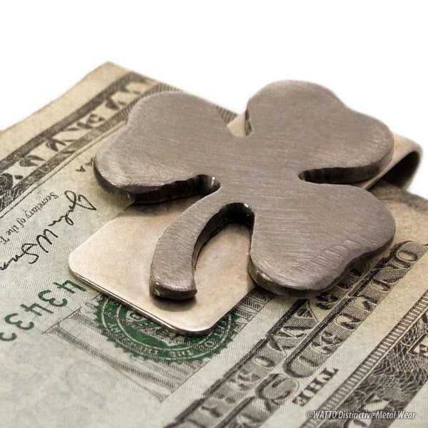 shamrock money clip