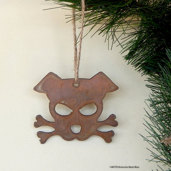 dog ornament - Outlaw Doggy Bandit