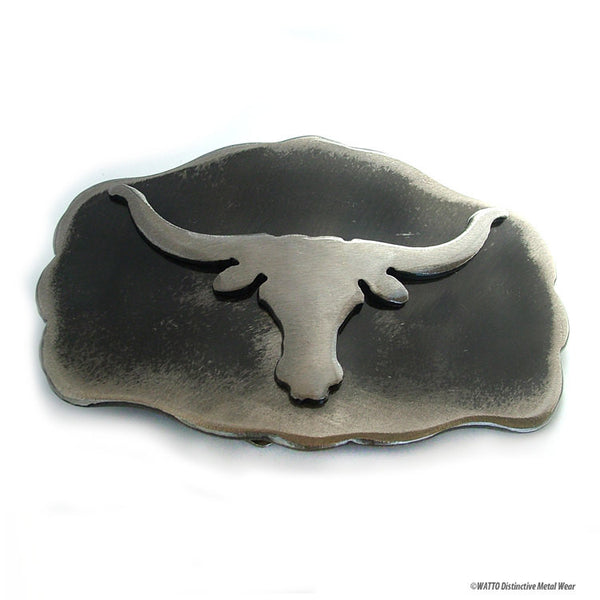 longhorn belt buckle