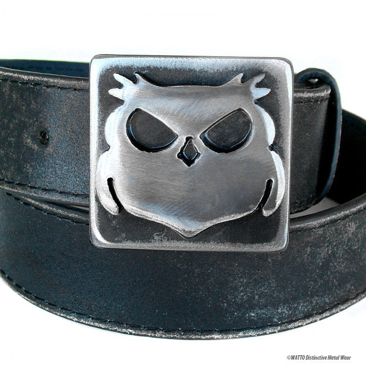owl belt buckle - Wisecracker Outlaw Owl