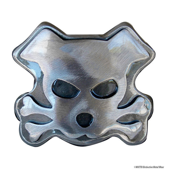 dog belt buckle - Outlaw Doggy Bandit