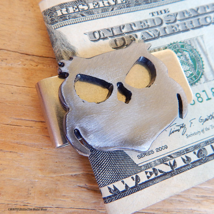 owl money clip - Wisecracker Outlaw Owl
