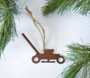 lawn mower ornament