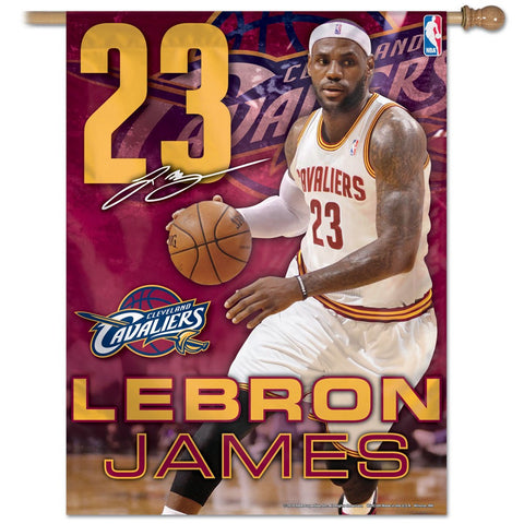 "Cleveland Cavaliers 27"" x 37"" Vertical Banner Flag"