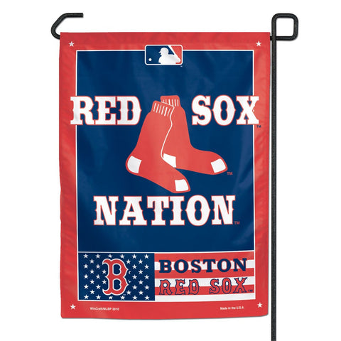 "Boston Red Sox 11"" x 15"" Garden Flag"