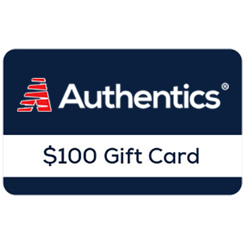 Authentics® $100 Online Gift Card