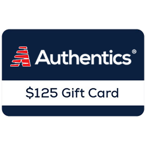 Authentics® $125 Online Gift Card