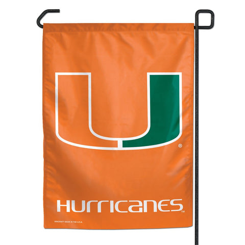 "Miami (Florida), University of 11"" x 15"" Garden Flag"