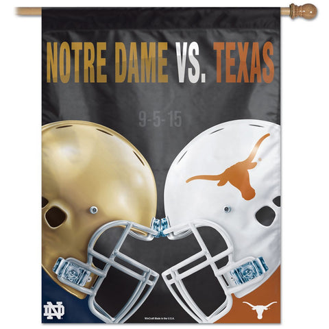 "NCAA Rivalry 27"" x 37"" Vertical Banner Flag"