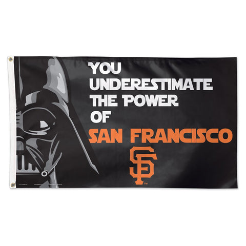 San Francisco Giants Darth Vader Deluxe 3' x 5' Flag