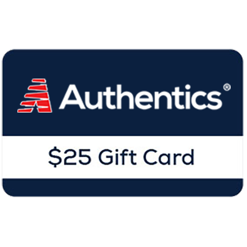 Authentics® $25 Online Gift Card