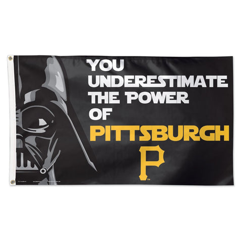 Pittsburgh Pirates Darth Vader Deluxe 3' x 5' Flag