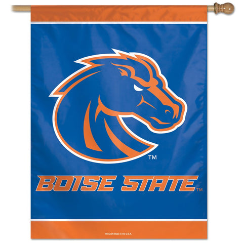 "Boise State 27"" x 37"" Vertical Banner Flag"