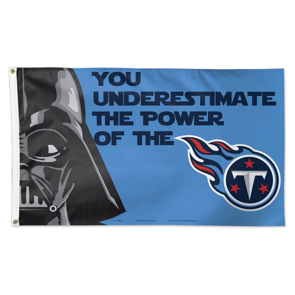 Tennessee Titans Darth Vader Deluxe 3' x 5' Flag �C Fan Authentics?