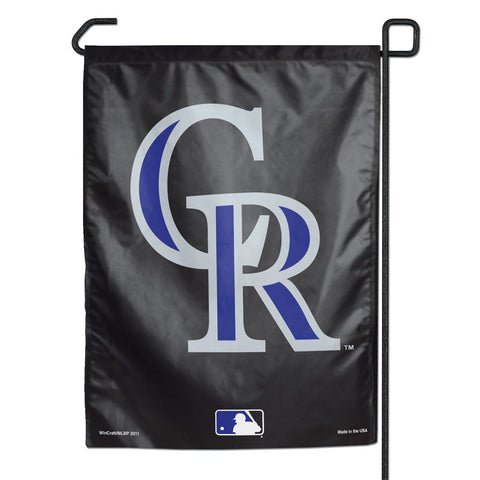"Colorado Rockies 11"" x 15"" Garden Flag"