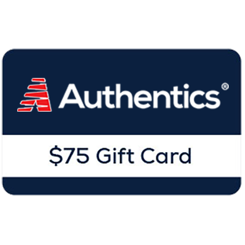 Authentics® $75 Online Gift Card